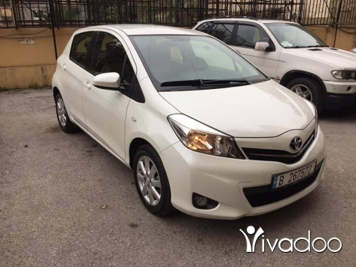 Toyota in Beirut City - Toyota Yaris 2013 full
