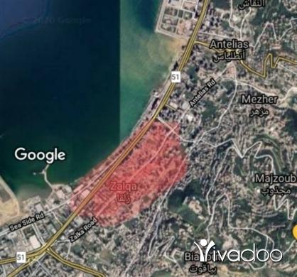 Land in Zalka - Prime Land in Zalka for sale 614m2 Zone B2 Prime Location & Shape rec 30x20 Build up to 2000m2
