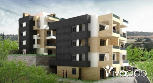 Apartments in Hosrayel - A 74 m2 apartment with a terrace for sale in Hsrayel