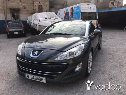 Peugeot in Beirut City - Peugot rcz 1,6 turbo model 2011