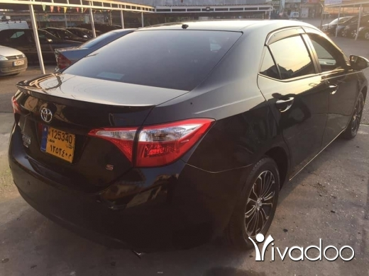 Toyota in Beirut City - Toyota Corolla S 2015 full options