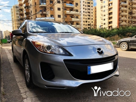 Mazda in Tripoli - Mazda 3 model 2012 Clean car