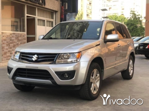 Suzuki in Beirut City - Suzuki Grand Vitara Silver 2012