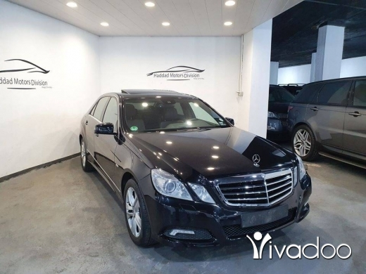 Mercedes-Benz in Beirut City - 2010 Mercedes E350 Avantgarde Premium Package Blue Efficiency