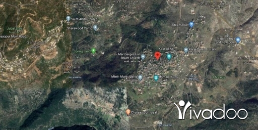 Land in Metn - A 12000 m2 land with a panoramic view for sale in Mtein