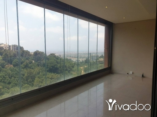 Apartments in Baabda - L04968 - 2-Bedroom Apartment For Rent in Brasilia with Panoramic view