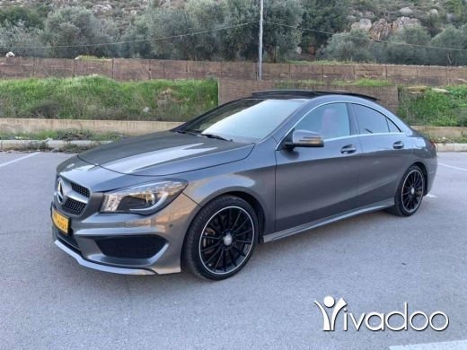 "Mercedes-Benz in Nabatyeh - Mercedes Benz CLA250 MY2014 grey/red Amg line """"""parktronic"""" one of the kind"