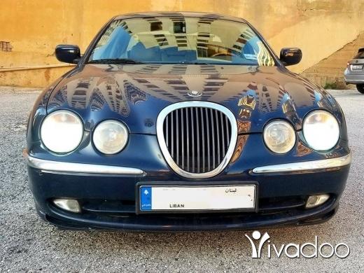 Jaguar in Beirut City - جاكوار S-Type م ٢٠٠١ رائعه جدا غير مستهلكه كثيرا