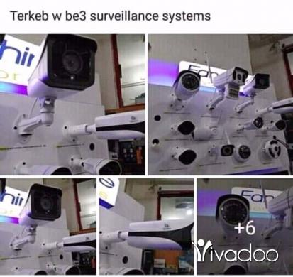 Cameras, Camcorders & Studio Equipment in Salim Slam - تركيب جميع كاميرات مراقبة