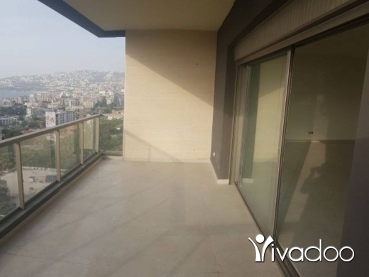 Apartments in Ghadir - A 155 m2 apartment having an open sea view for sale in Ghadir