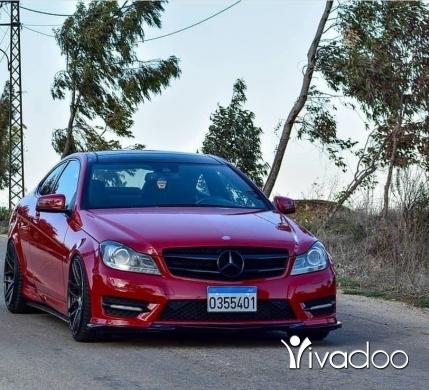 Mercedes-Benz in Nabatyeh - C250 full full 2012