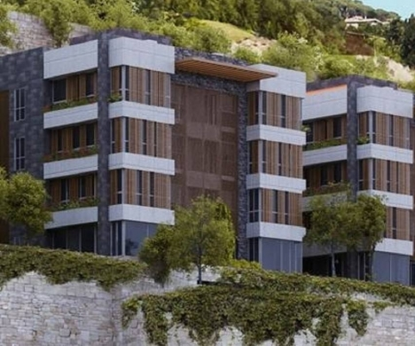 Apartments in Baabda - Mountain Seaview apartment for sale in Al Jamhour