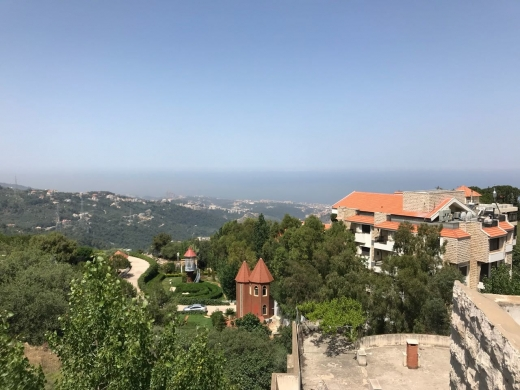 Villas in Aley - Building and Villa with view for sale in Ainab, Aley