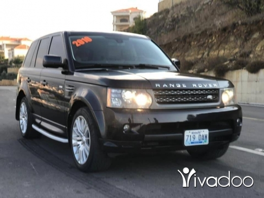 Rover in Beirut City - Rang rover 2010 اجنبي