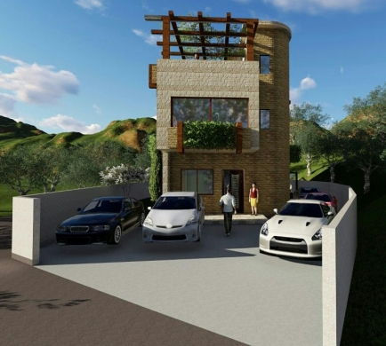 Villas in Ashkout - uncompleted villa in achkout with 150 sqm garden  payable in Lebanese Lira