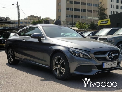 Mercedes-Benz in Beirut City - 2016 C180 Coupe / Like New / Freshly imported