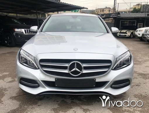 Mercedes-Benz in Beirut City - 2015 C180 / Perfect condition / Low mileage