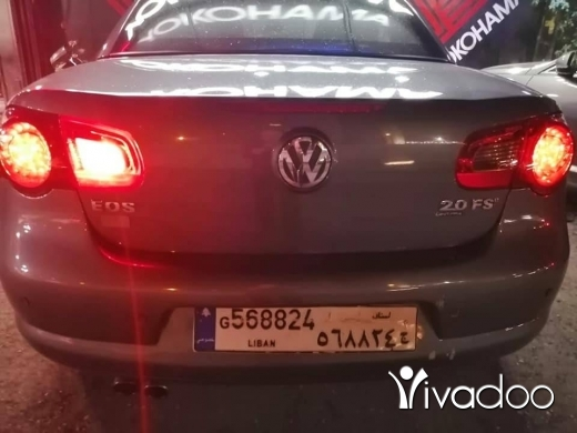 Volkswagen in Beirut City - V.w Eos turbo kachef 2008