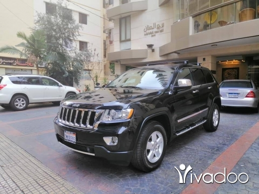 Jeep in Beirut City - 