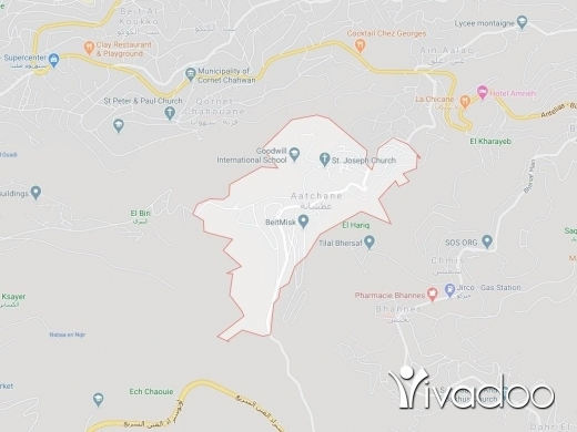 Land in Atchaneh - A 2686 m2 land for sale in El Atchane