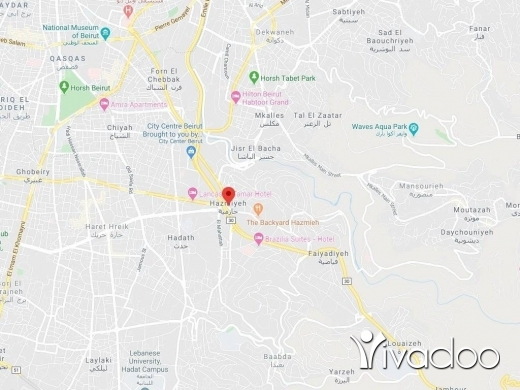 Land in Hazmieh - A 1000 m2 land for sale in Hazmieh - Prime location