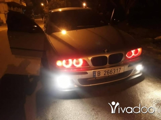 BMW in Beirut City - 535 مودل 1998 خرج بيت مدللة للجادين فقط موجودةبزحلة 03044707