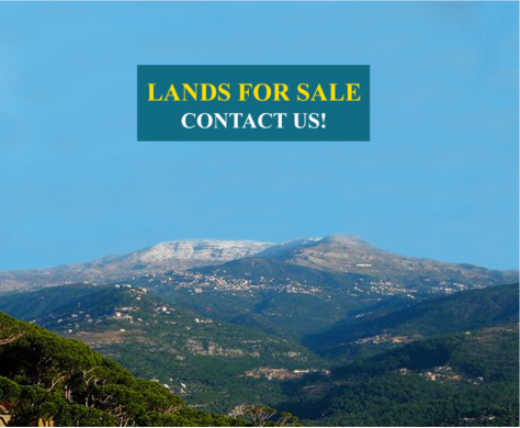 Land in Ain Saadeh - Land for Sale in Ain Saade 1650 sqm