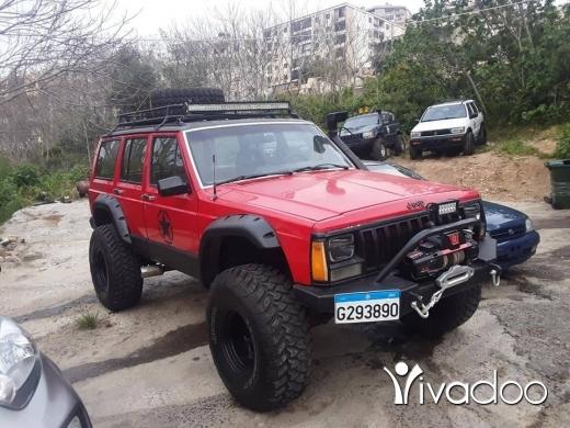 Jeep in Beirut City - للبيع او تبديل جيب شيروكي 89 مفول 6 سلندر