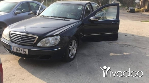 Mercedes-Benz in Zgharta - Mercedes S 320 2002 kayen