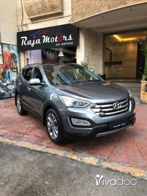 Hyundai in Beirut City - Hyundai Santafe 2016 4WD