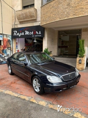 Mercedes-Benz in Beirut City - Mercedes-Benz S320 Year 1999