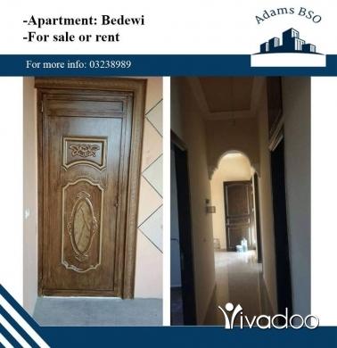 Apartments in Tripoli - شقة للبيع أو للايجار في طرابلس, جبل البداوي
