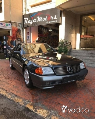 Mercedes-Benz in Beirut City - Mercedes-Benz SL500 1991