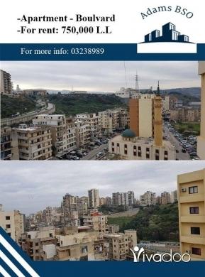 Apartments in Tripoli - شقة للايجار خلف شركة الهوندا البولفار