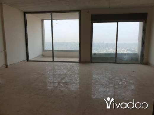 Apartments in Baabda - L03898 - Panoramic View 3-Bedroom Apartment For Sale in Brasilia