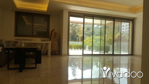 Apartments in Baabda - L03610 - Luxurious 286 sqm Apartment For Sale with 120 sqm Terrace