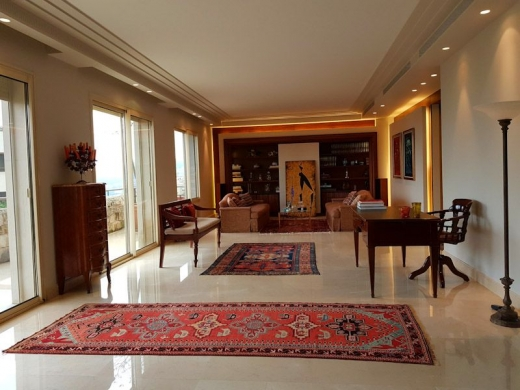 Apartments in Biyada - Furnished Apartment with Terrace for Rent in Biyada