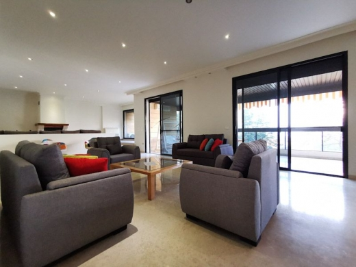Apartments in Broumana - Furnished Apartment with Terrace for Rent in Broumana