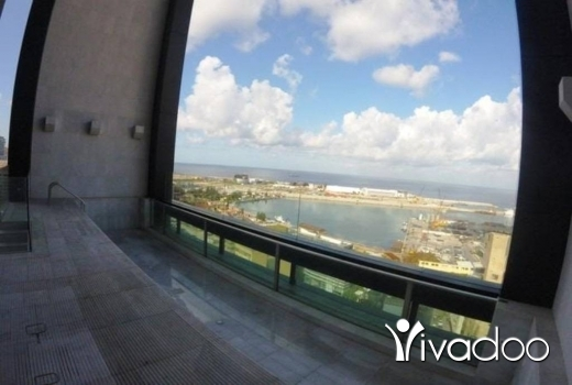 Apartments in Saifi - A 235 m2 apartment with a pool and a panoramic sea view for sale in Saife