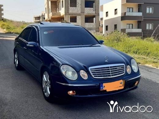 Mercedes-Benz in Tripoli - E 500 model 2004