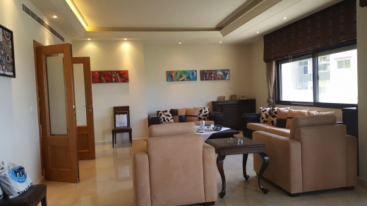 Apartments in Metn - Furnished Apartment with Terrace for Rent in Naccache