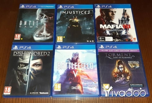 Video Games & Consoles in Tripoli - Games playstation 4 and playstation 3 used like new for sale or trade