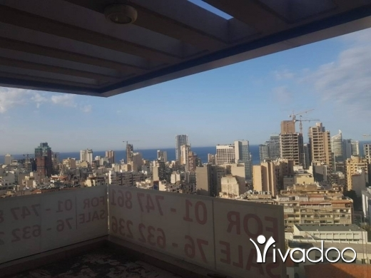 Apartments in Achrafieh - A brand new 220 m2 apartment with an open sea view for sale in Achrafieh