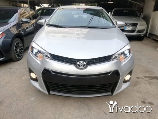 Toyota in Saida - 2015 Toyota Corolla S sports package 62k