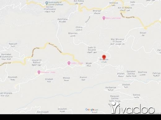Land in Baabdat - A 1500 m2 land for sale in Baabdat