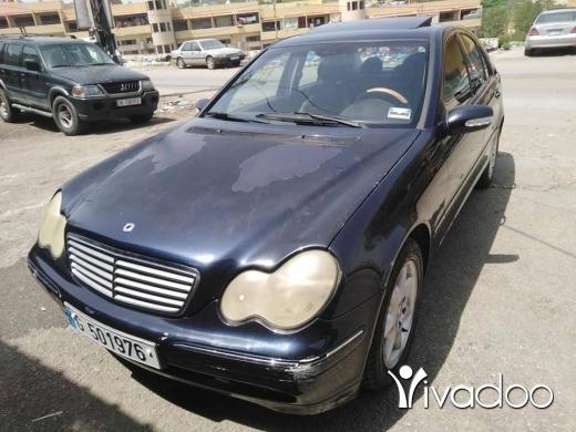 Mercedes-Benz in Beirut City - مرسيدس 240 اوروبيه 2001 خاميه ما فيها حوادس كحلي وجلد اسود النبطيه واتس اب 03415478