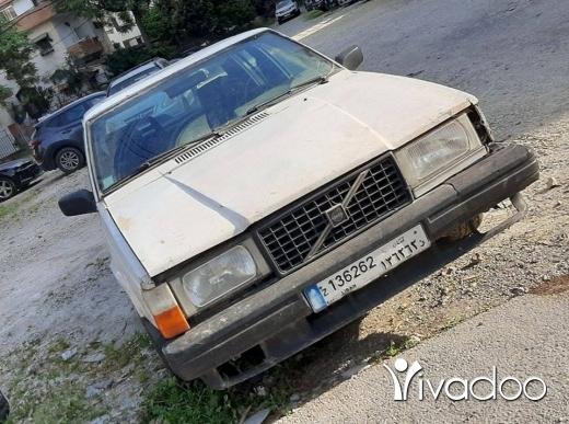 Volvo in Beirut City - Volvo 740 Turbo