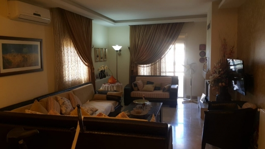 Apartments in Ain el Ghossein - fully decorated apartment for rent in zahle overlooking the city