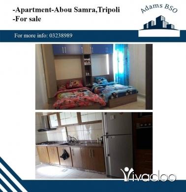 Apartments in Tripoli - شقة للبيع في طرابلس ابو سمرا