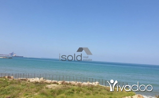 Land in Jal el-Dib - A 691 m2 land for sale in Jal El Dib in a prime location on the main sea road